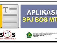 Aplikasi SPJ BOS V.15 untuk Madrasah tsanawiyah