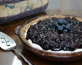 Blueberry Cheesecake Pie