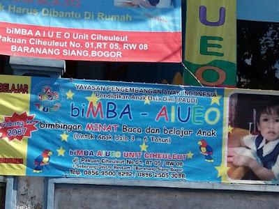 biMBA AIUEO Ciheleut Launching cabang ke-2087 Berjalan Sukses