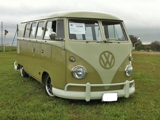 VW Split Bus Mango Green 1960 For Sale