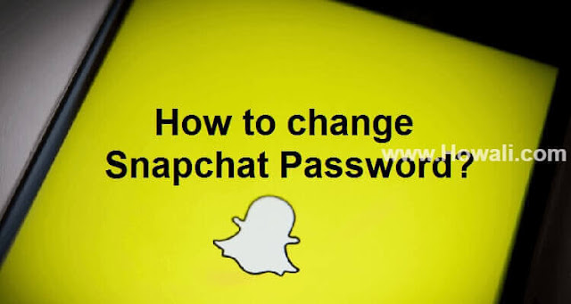 How to change Snapchat Password?