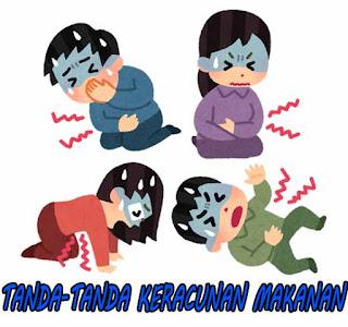 penyebab keracunan makanan