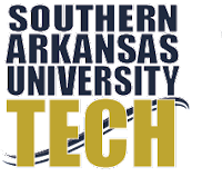 This is the logo of Southern Arkansas University Tech
