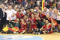 HOCKEY PATINES - Campeonato de Europa masculino 2018 (La Coruña, España): La selección española celebra su 17º título continental ante su afición