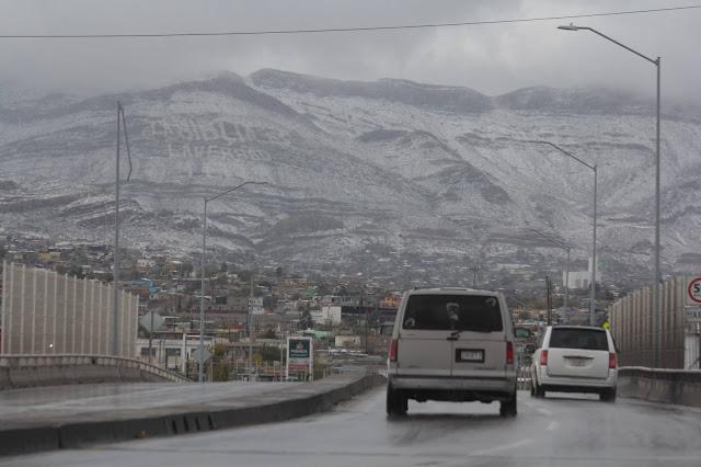 El norte de México se cubre de blanco