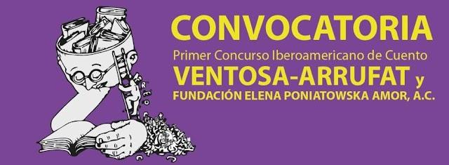 Cierra con casi 900 trabajos recibidos el Primer Concurso Iberoamericano de Cuento y Novela Ventosa-Arrufat y Fundación Elena Poniatowska Amor