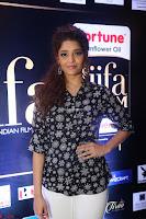 Ritika Singh in Black Printed Shirt and White Leggings at IIFA Utsavam Awards press meet 27th March 2017 02.JPG
