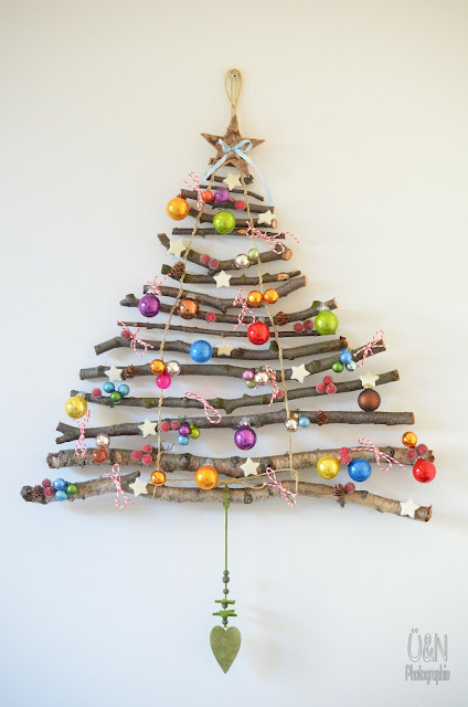 Alternative Christmas Tree Ideas Non Traditional Branches Tree Wall Ornaments Holiday