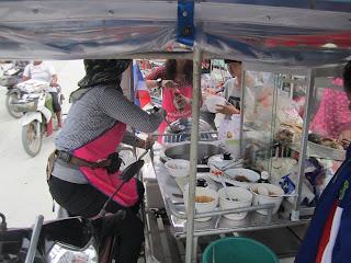 Thailändische Suppenküche