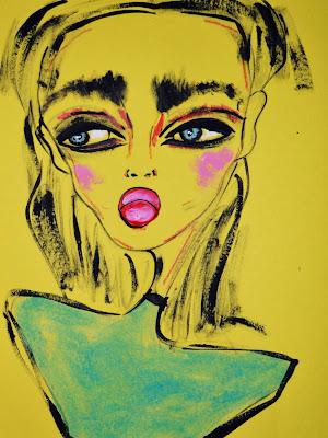 Bebee Pino girl in yellow