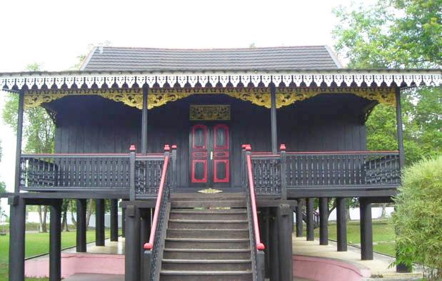Rumah Kajang Leko, Rumah Adat Provinsi Jambi