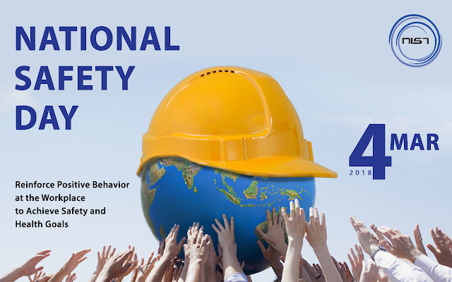 National Safety Day / Week 2018