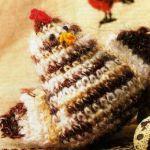 patron gratis gallina amigurumi | free amigurumi pattern hen