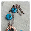 MNCjewels by Monica: Zelfira: ceramic handmade beads and copper