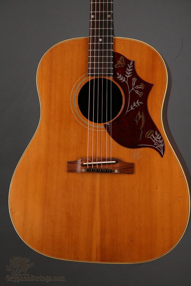 Guitars-A-Go-Go: 1964 Gibson J-50 (with Hummingbird pickguard)