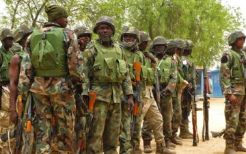 Nigerian Army Dismisses 203 Soldiers After Secret Night Trial