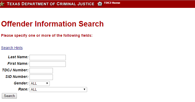 Tdcj Inmate Search   TDCJ Inmate Lookup: TDCJ Inmate Search Online,Texas