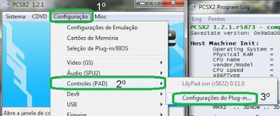5 Configurando emulador de playstation 2, Pcsx2, emulador de ps2
