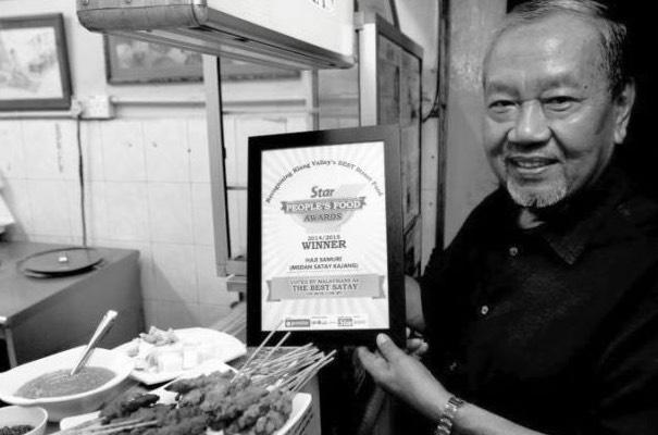 Datuk Samuri Juraimi, Pengasas Sate Kajang Hj Samuri Meninggal Dunia
