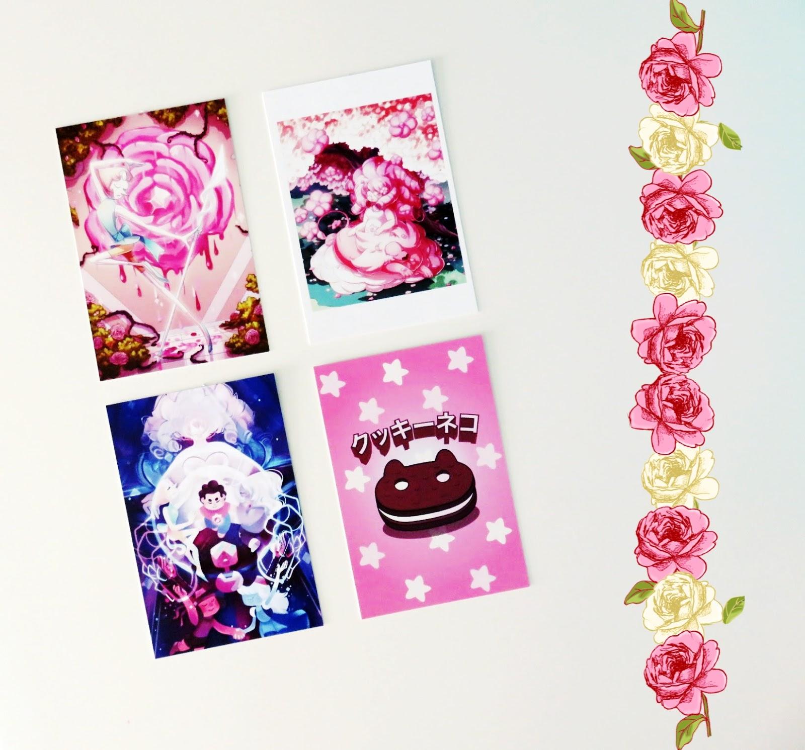 steven universe postcard prints art