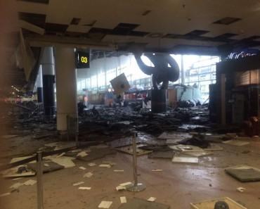 Vidéo intense des attentats de Bruxelles