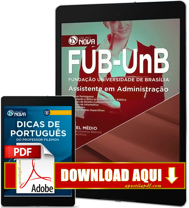 Apostila FUB 2016 PDF Download Assistente em Administração PDF