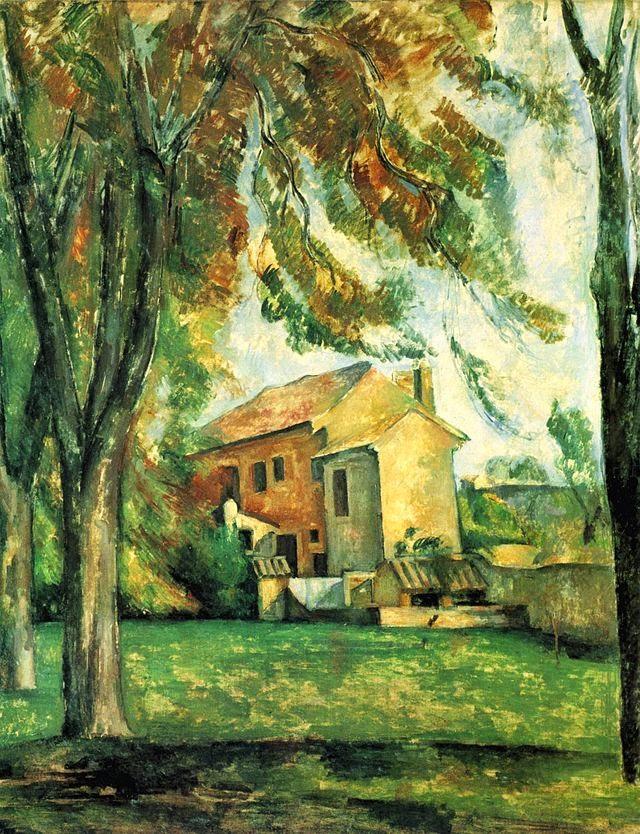 A Residência de Jas Bouffan - Paul Cézanne e suas principais pinturas ~ O fundador da Arte Moderna