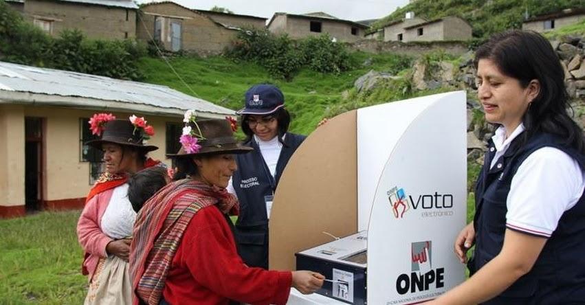 ELECCIONES 2017: Más de 6 mil electores de Ayacucho y Ucayali eligen hoy a sus autoridades municipales - ONPE - www.onpe.gob.pe