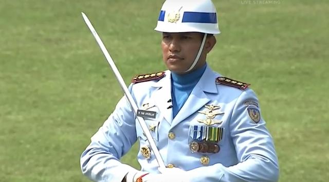 Komandan upacara 2017