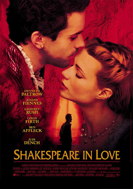Shakespeare in Love 1998 movie poster
