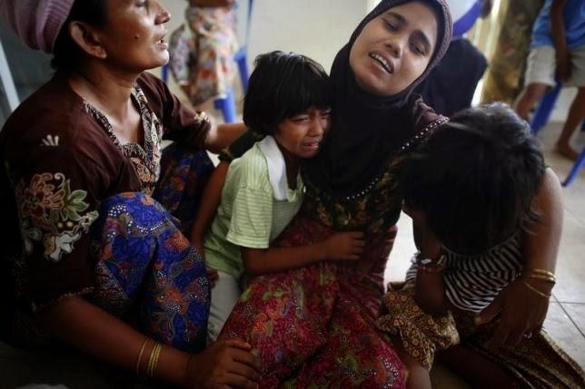 Rohingya Blogger: Thai shelters struggle as Rohingya crisis
