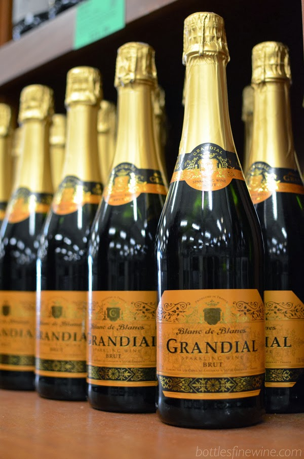 Grandial Blanc de Blancs - Affordable Sparkling Wine for New Years
