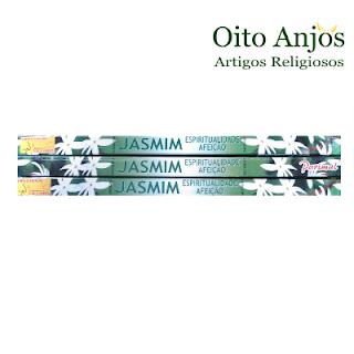 Incenso Jasmim - Oito Anjos Artigos Religiosos e Loja Esotérica