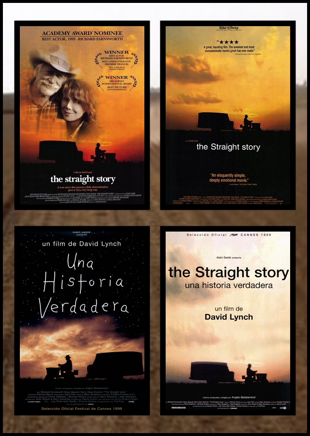 historia verdadera, David Lynch, Straight Story