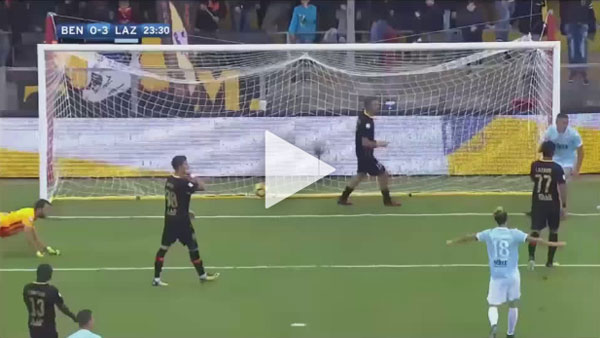 Video Benevento 1 - 5 Lazio Serie A Vòng 11