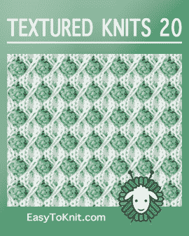 Easy To Knit: textured-knitting