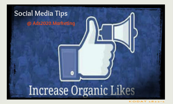 How to Increase Organic Likes on Facebook Page-social-media-tips-580x350