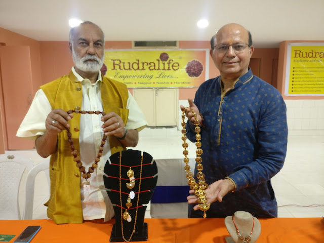 Rudralife launches Exhibition cum Sale of Rudraksha in Hyderabad