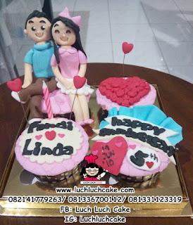 Cupcake Anniversary ke - 5 Romantis