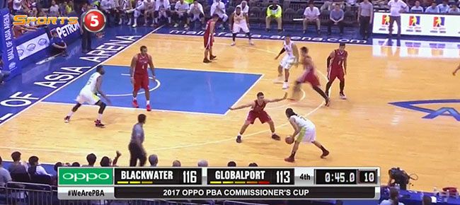 Blackwater def. GlobalPort, 118-113 (REPLAY VIDEO) April 8