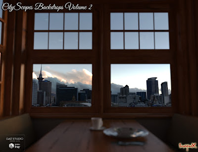 CityScapes Backdrops Volume 2