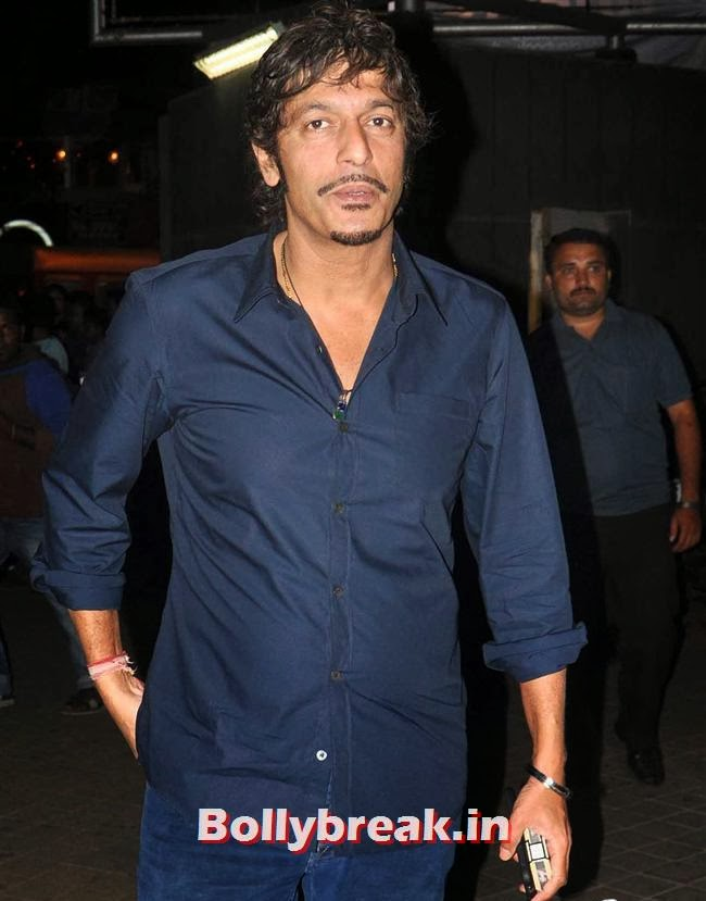 Chunky Pandey, Bollywood Celebs at Jai Ho Special Screening