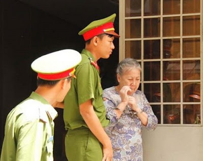 Nguyen Thi Huong was sentenced to death for trafficking over a kilo of heroin.