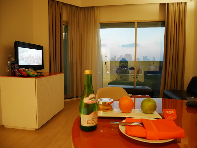 Welcome drink dari Harris Hotel Tebet