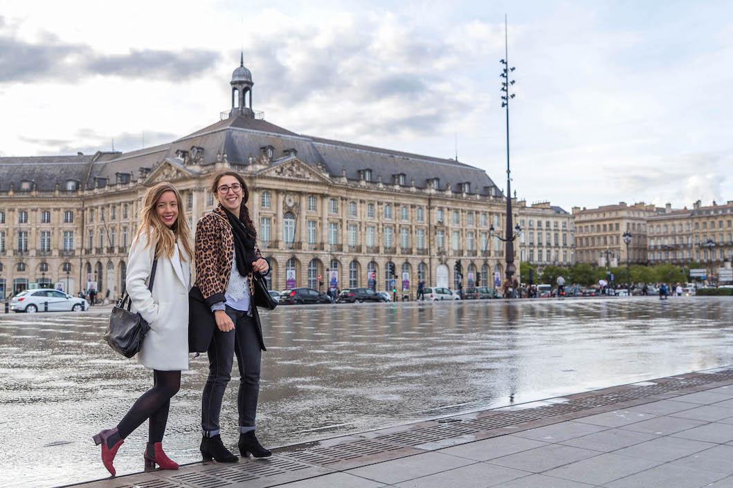Miroir d'eau visiter Bordeaux