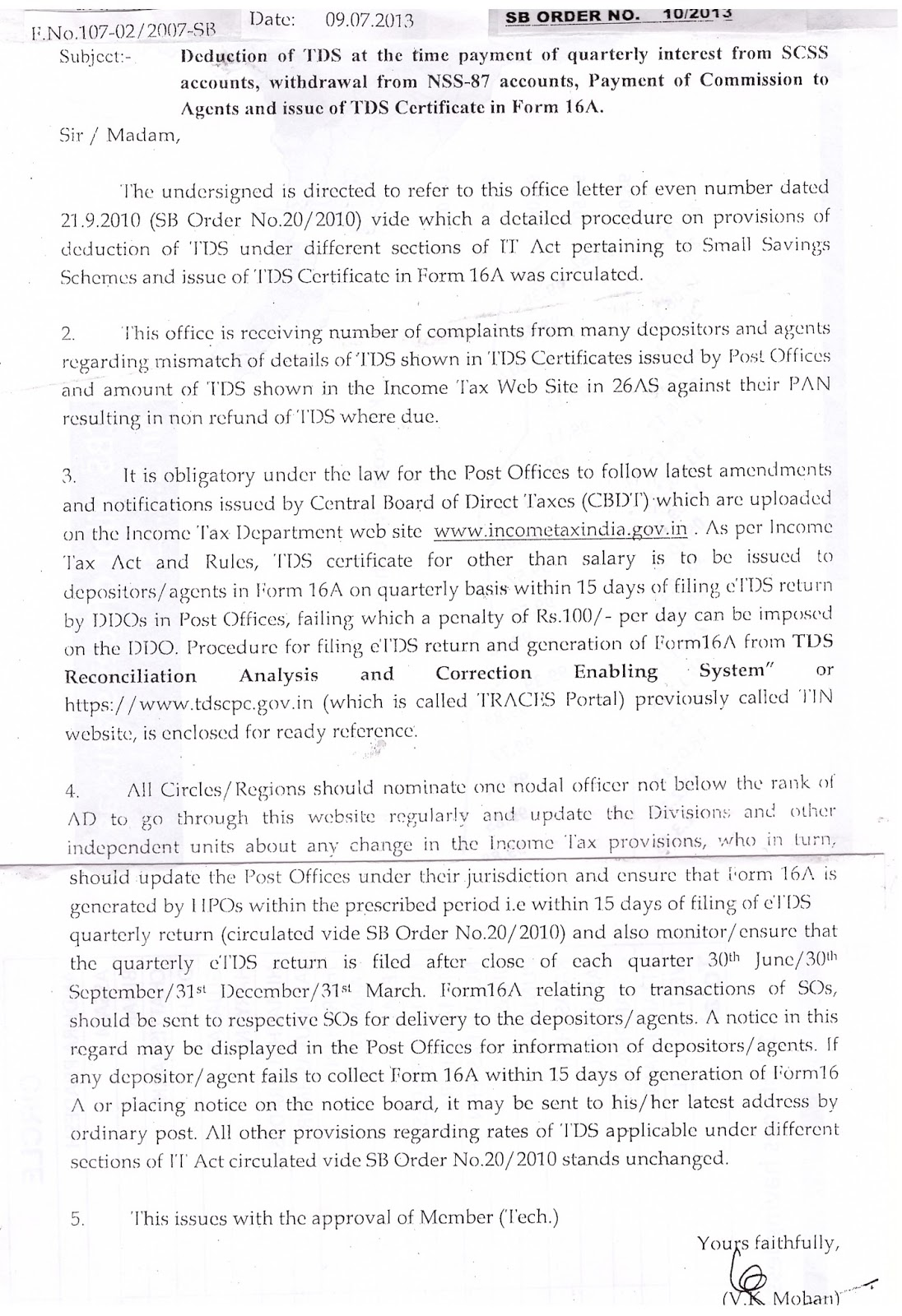 IP(A)SP ANDHRA: Deduction of TDS at the time of payment of