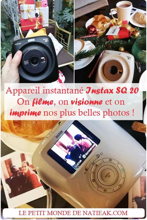Instax SQ20 : Filmer, visionner et imprimer votre plus belle photo !