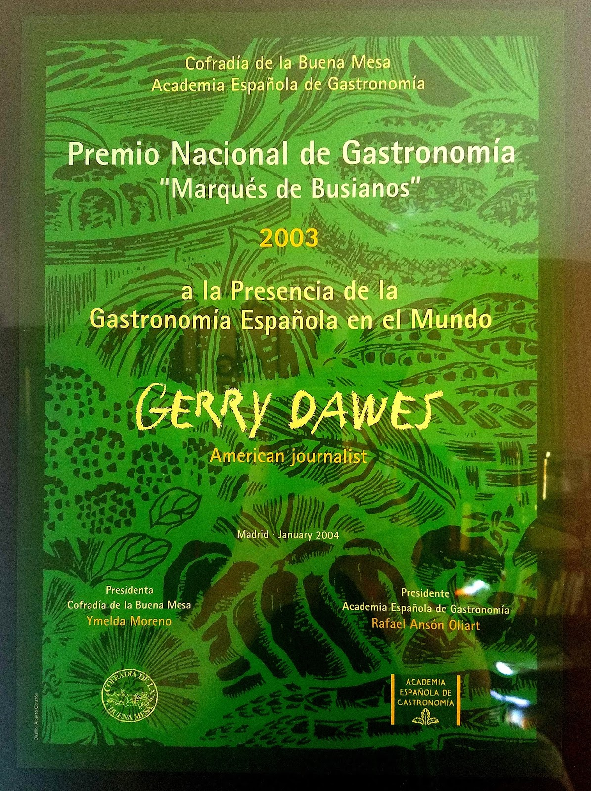 Gerry Dawes S Spain An Insider S Guide To Spanish Food Wine  # Muebles Duk Oiartzun