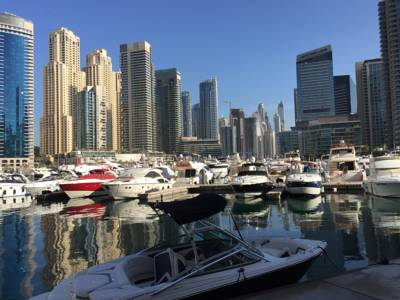 شقق Waterfront Apartment Dubai Marina