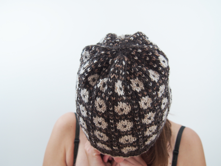 Wilkie Hat in Rowan Cashmere Tweed by Martin Storey, knit by Dayana Knits